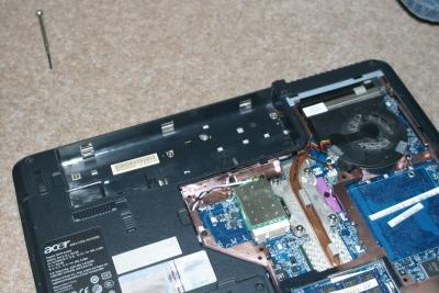 Cambiar el teclado en notebook Acer Aspire 5315